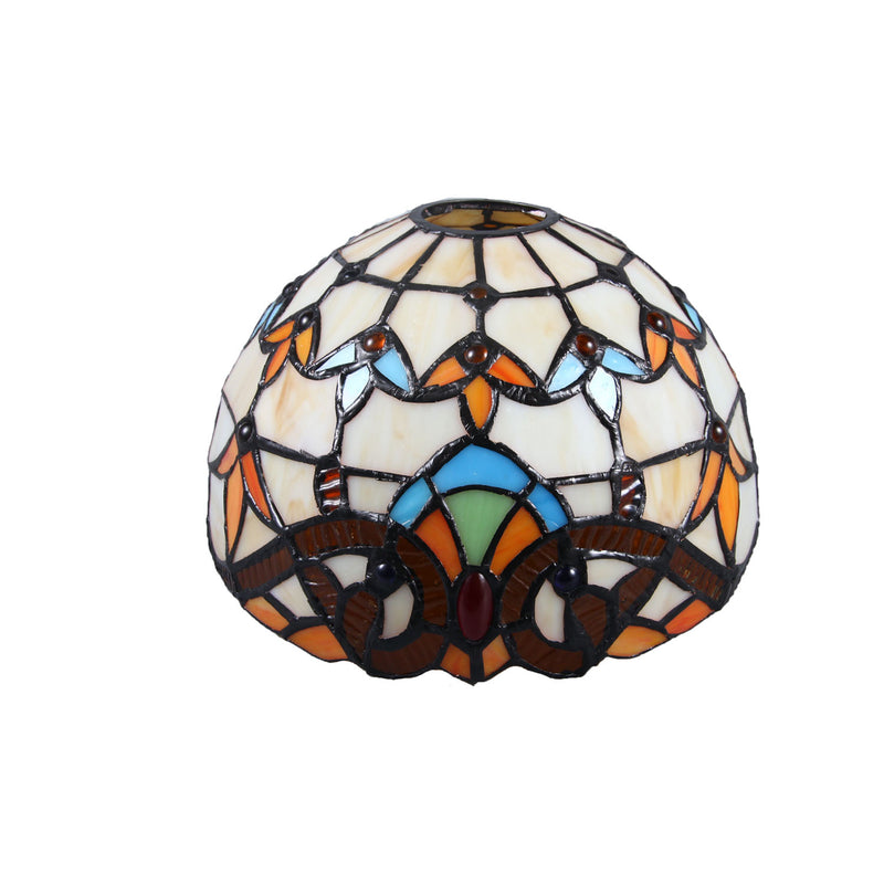 Mediterranean Style Moroccan Lamp Stained Glass Shade LED Pendant Lights for Hallway Aisle Corridor. (LS2,020)