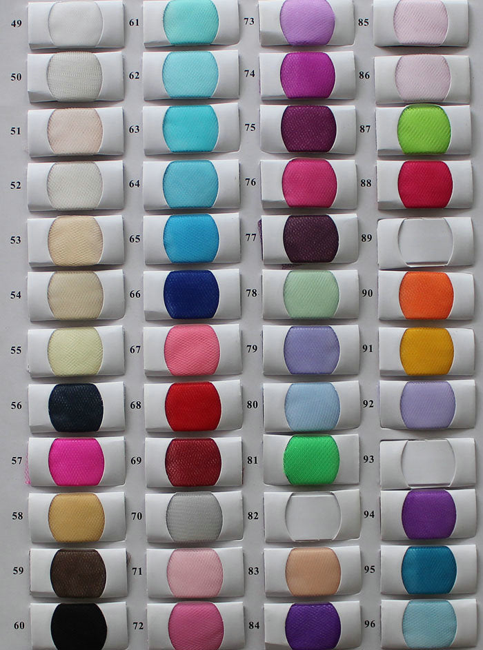 Tulle Color Chart 2 - daisystyledress