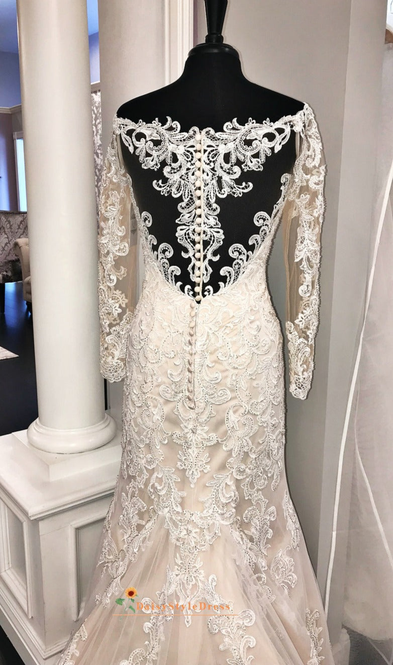 fitted lace evening dress