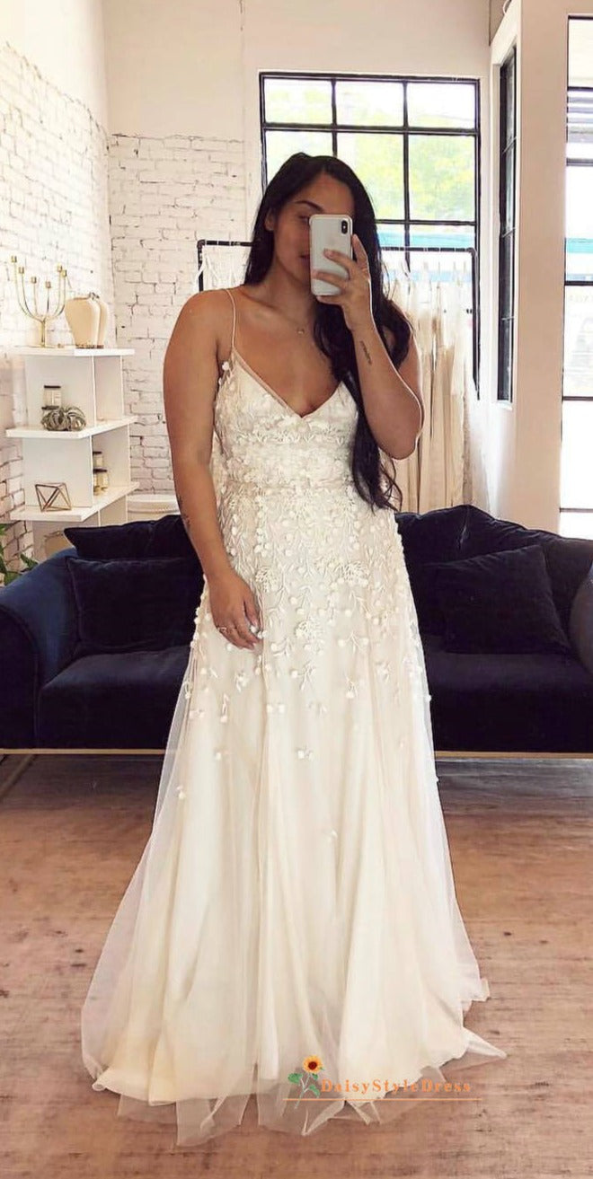informal plus size wedding dress