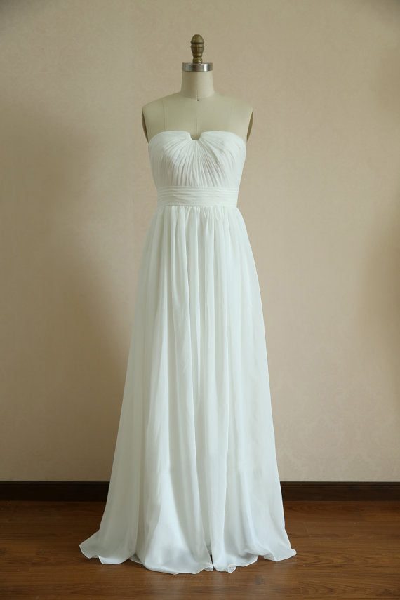 A line Sweetheart Informal Wedding Dress - daisystyledress