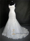 Mermaid Sweetheart Lace Wedding Dress - daisystyledress
