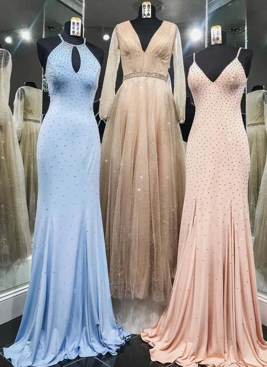 Mermaid Handmade Beaded Prom Dress - daisystyledress