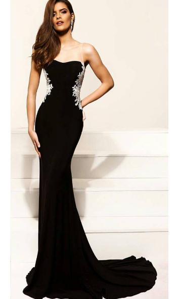 Sexy Mermaid Black Evening Party Dress - daisystyledress