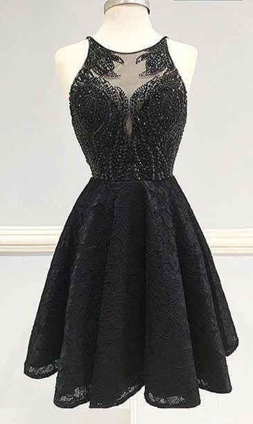 Black Homecoming Dress