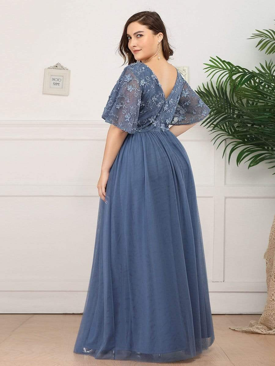 Plus Size Wedding Party Dress