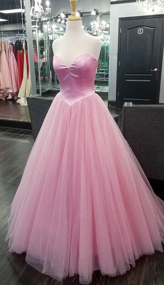 Ball Gown Sweetheart Neckline Prom Dress - daisystyledress