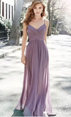 A line Spaghetti Straps Bridesmaid Dress - daisystyledress