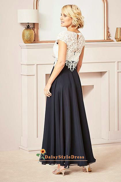 ankle length wedding party dress