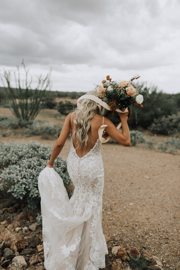 Sexy Backless Lace Wedding Dress - daisystyledress