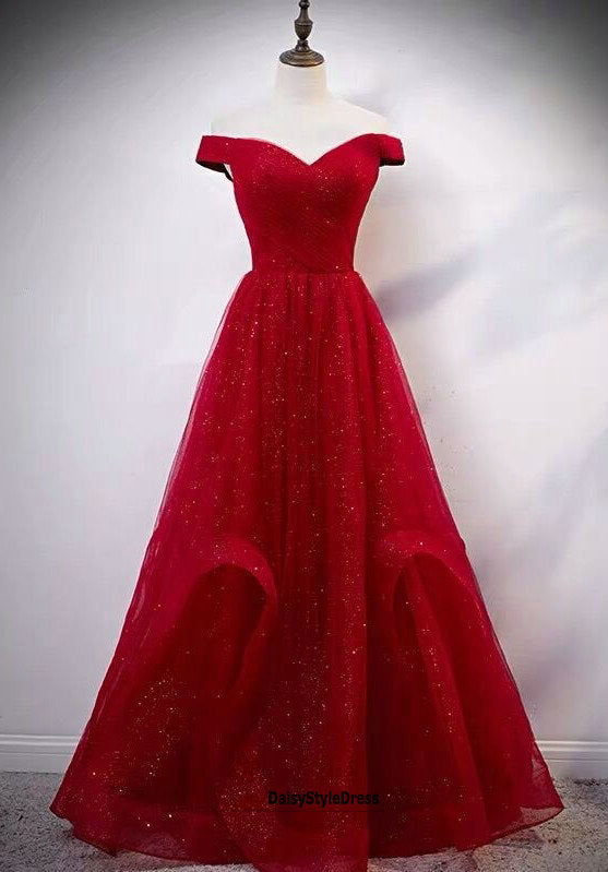 ball gown sparkle prom dress