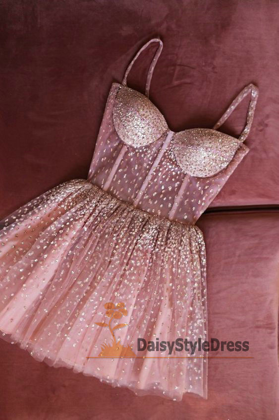 Sexy Mini Handmade Beading Homecoming Dress - daisystyledress