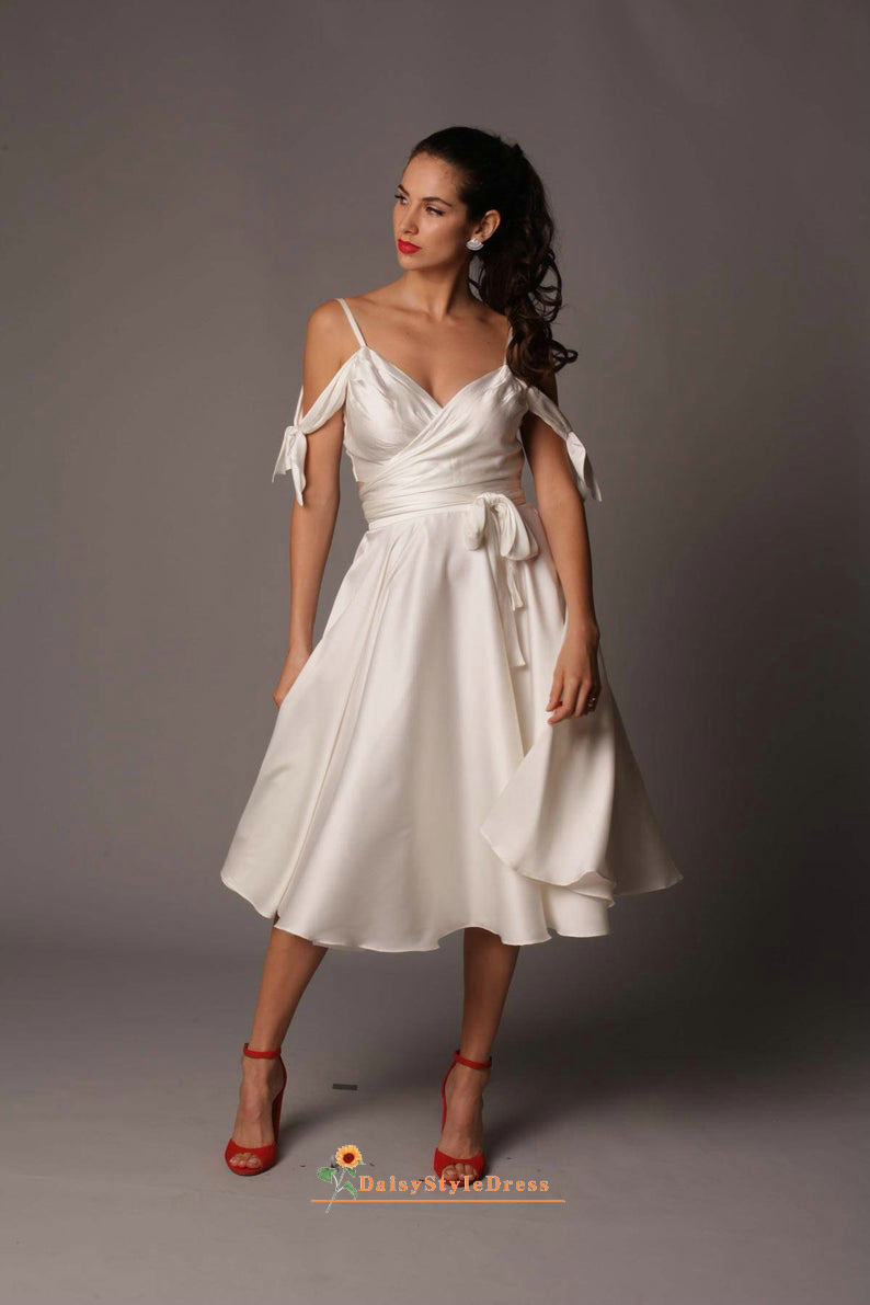 short reception wedding dress