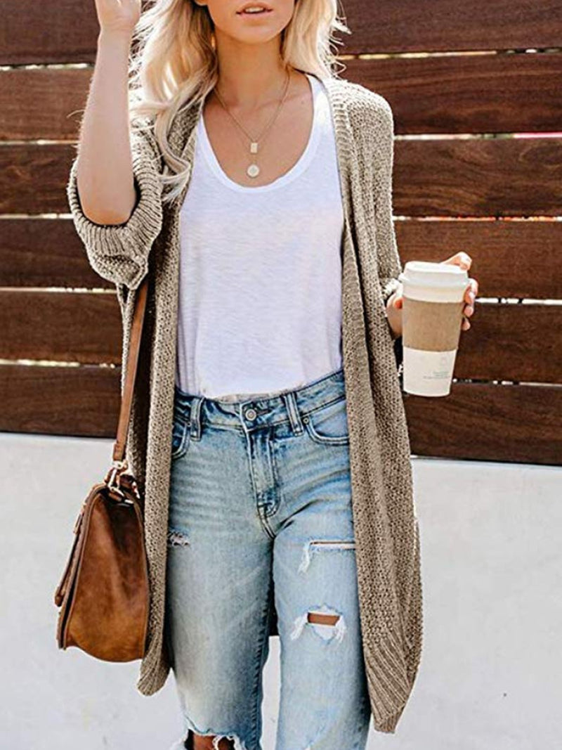 Winter Cardigan Knit Sweater Coat