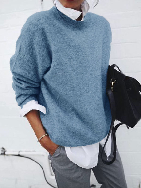 Autumn SOLID CASUAL LONG SLEEVE ACCESSORIES