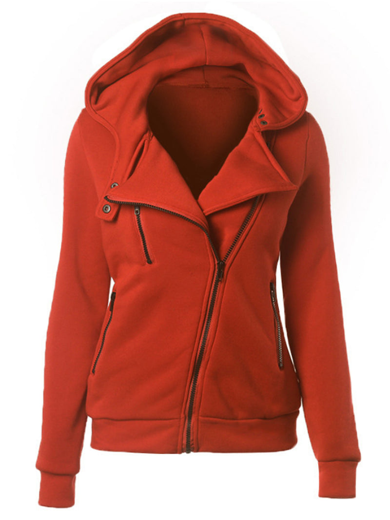 Autumn And Winter Casual Zipper Jacket
