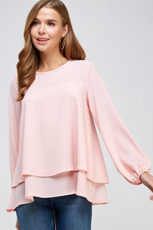 Pearl Layered Blouse