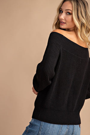 Feel Beautiful Knitted Sweater