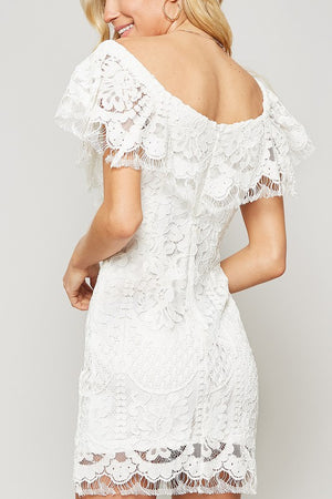 Lace and Grace Dress Off The Shoulder Dress