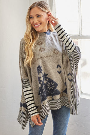 Bonfire Cuddles  Aztec Tunic