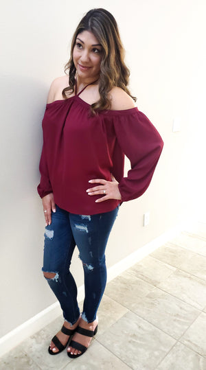 Lost In Love Off The Shoulder Top