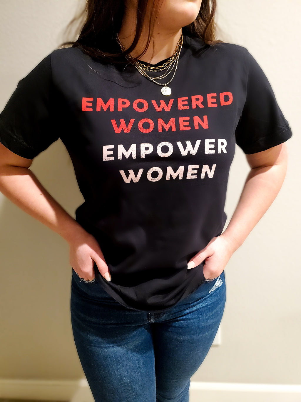 EMPOWERED WOMEN EMPOWER WOMEN Graphic Tee