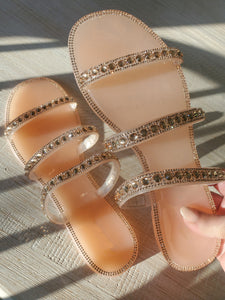 Let Your Light Shine Jelly Sandal