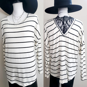 The Moment of Truth Stripe Top