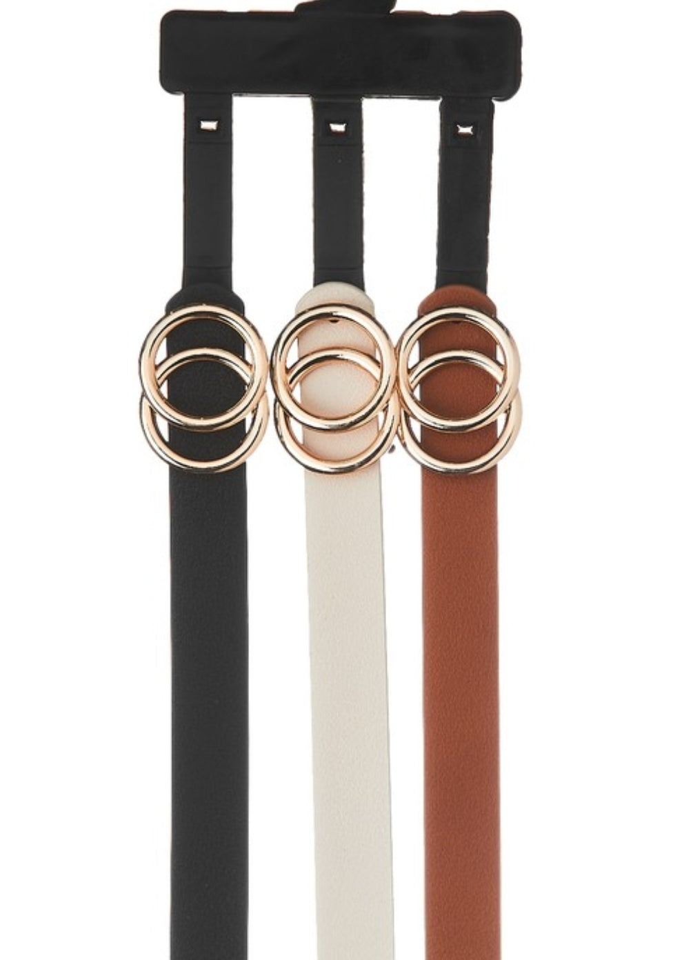 Skinny 3 Pack Double Ring Set