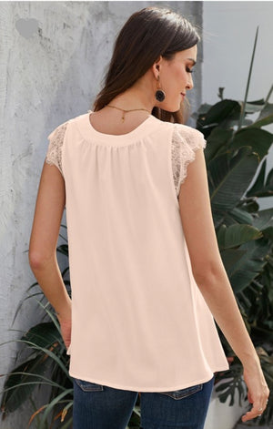 Loving On You Reversible Lace Top S-2XL