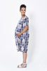Koka Mama Maternity Shift Dress in Check Print