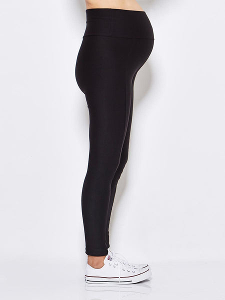 Koka Mama Maternity Wet Look Legging