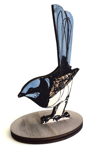 Superb Fairy Wren - Standing Bird