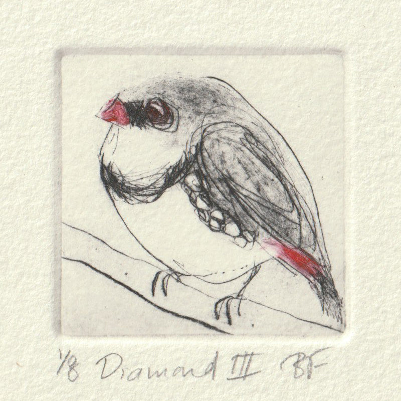Diamond III - Original Etching