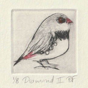 Diamond II - Original Etching