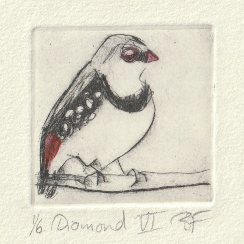 Diamond VI - Original Etching