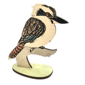 Laughing Kookaburra - Standing Bird