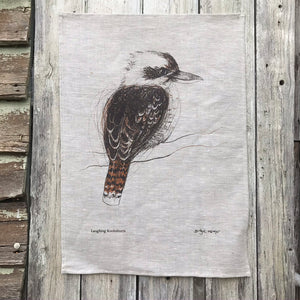 Laughing Kookaburra - Tea Towel