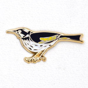 New Holland Honeyeater - Lapel Pin