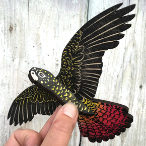 Red-tailed Black Cockatoo - Mobile