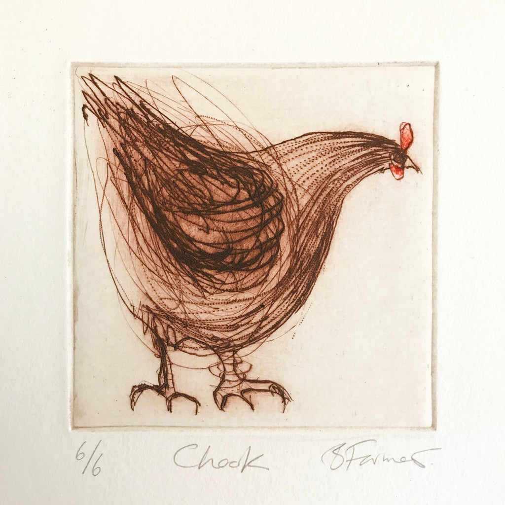Chook - Original Etching
