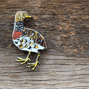 Plains Wanderer - Lapel Pin