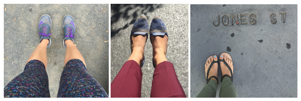 Around the World in 3 Pairs of Shoes