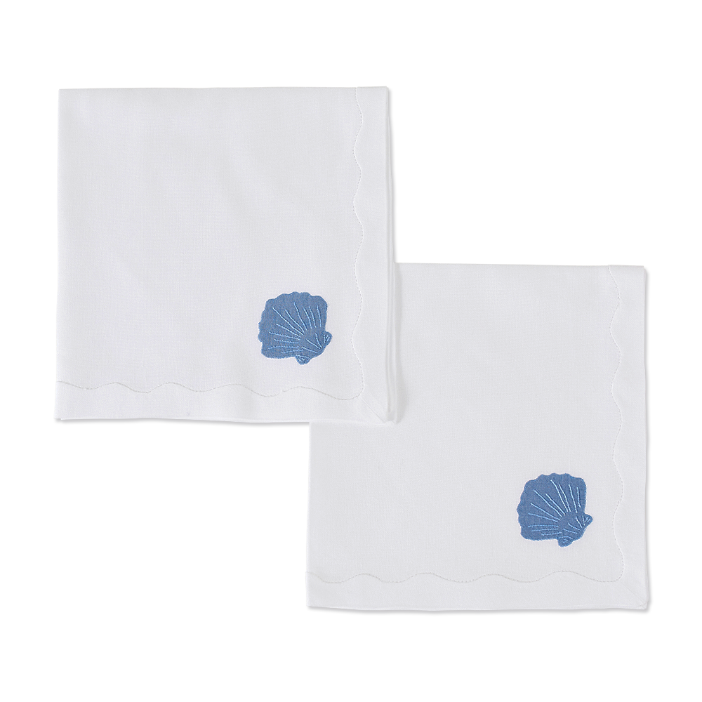Michelle Dinner Napkins, French Blue, Set of 2