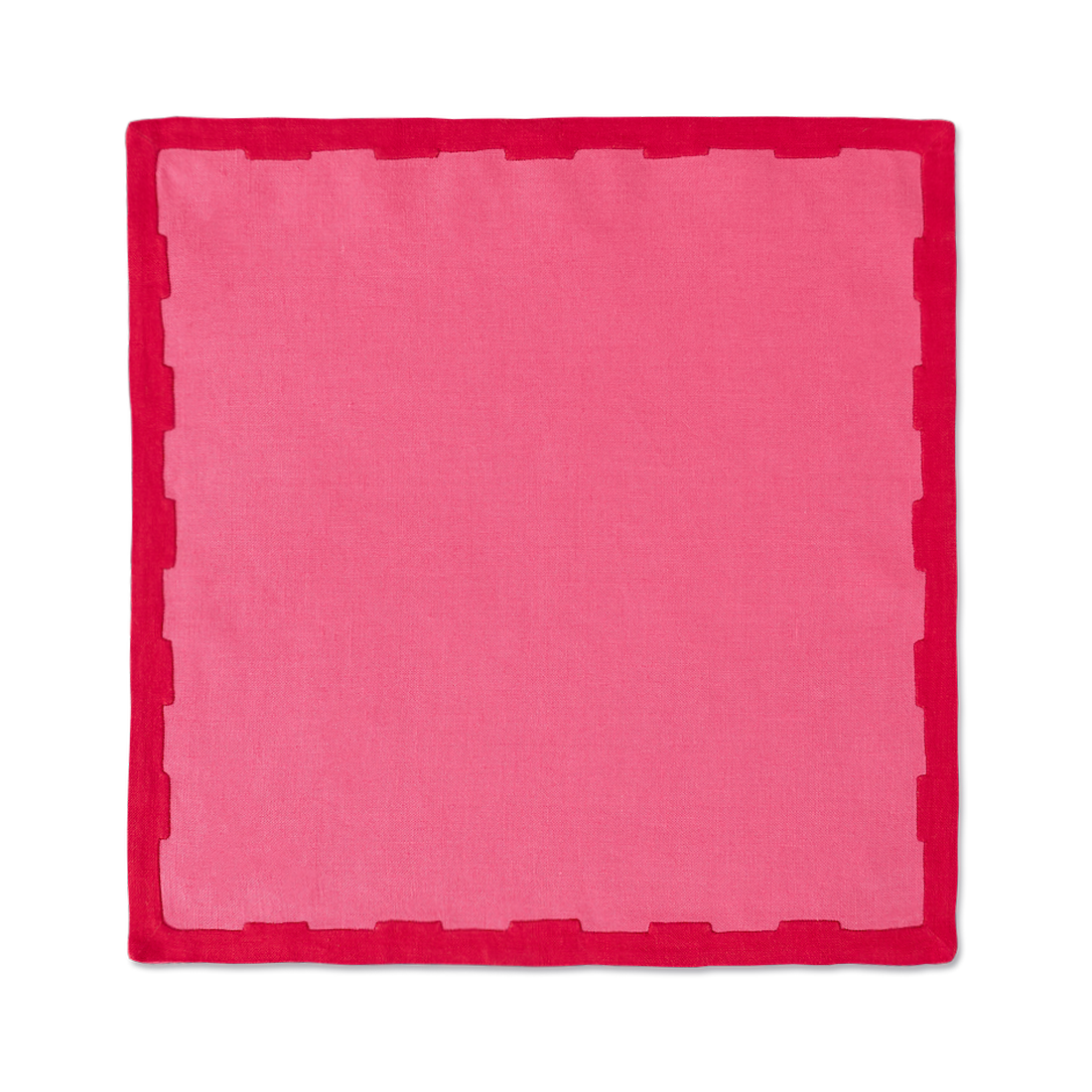 Hanover Placemats, Pink and Red, Set of 2 - BACK IN STOCK