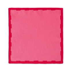 Hanover Placemats, Pink and Red, Set of 2