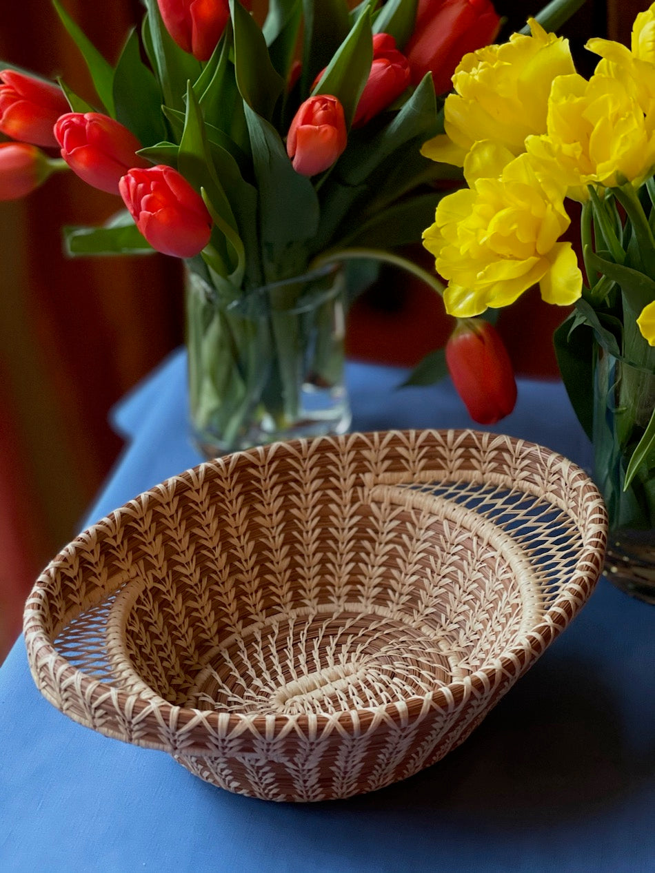Woven Oval Basket Medium