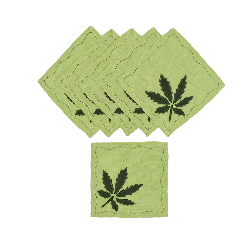 Mary Jane Cocktail Napkins, Set of 6