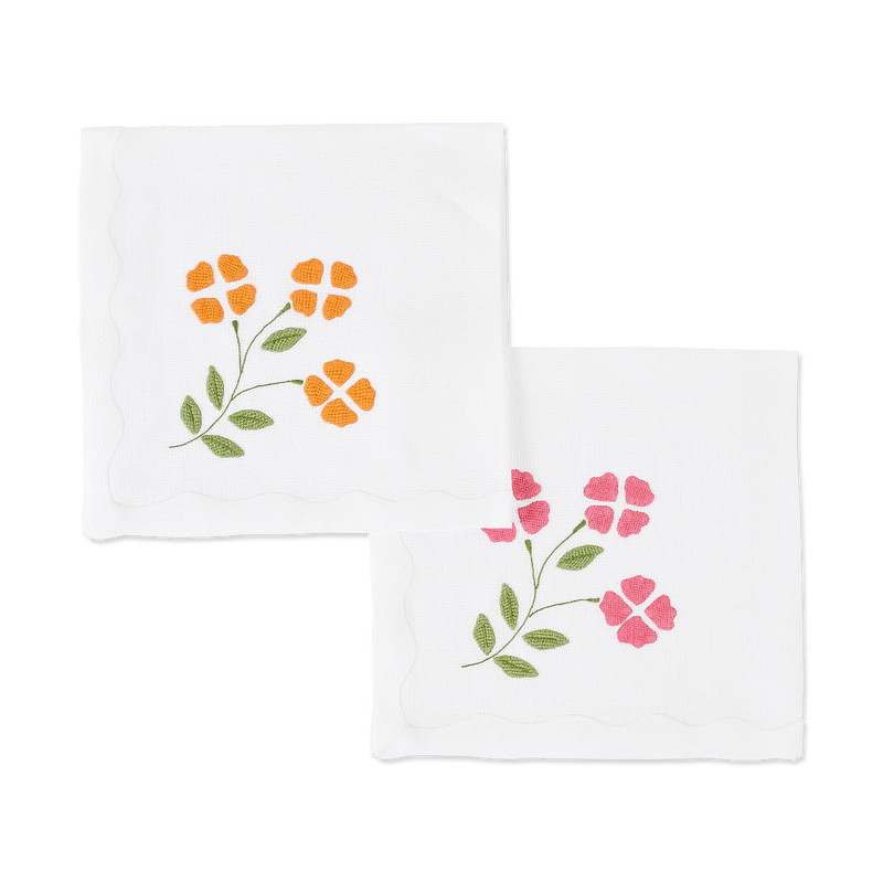 Matisse Floral Dinner Napkins, Set of 2