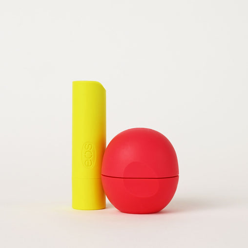 pineapple passionfruit and coconut milk stick and sphere lip balm - eos - alt image 1
